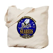 US Navy Seabees We Build, We Fight Tote Bag