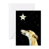 Greyhound holiday Greeting Cards (10 Pack)