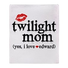 Twilight Mom Throw Blanket