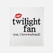 Twilight Fan Throw Blanket