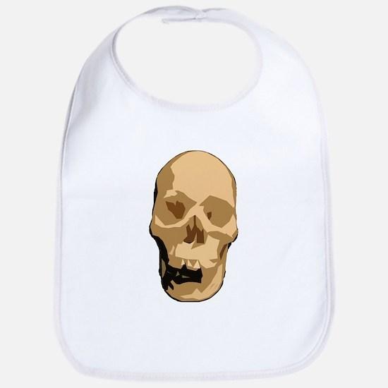 Skull 4 Bib