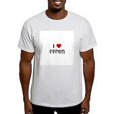 I * Efren Ash Grey T-Shirt