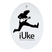 iUke Ornament (Oval)