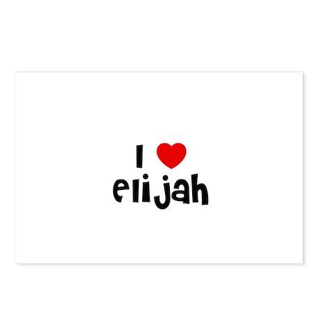 I * Elijah Postcards (Package of 8)