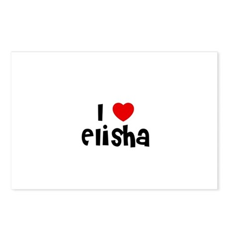 I * Elisha Postcards (Package of 8)