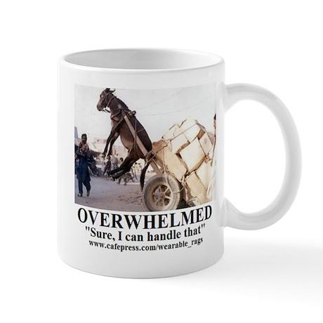 OVERWHELMED2 Mugs