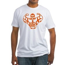 Strong Man Orange_Shirt