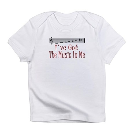 The Music In Me Creeper Infant T-Shirt