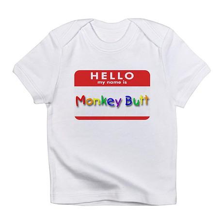 Monkey Butt Creeper Infant T-Shirt