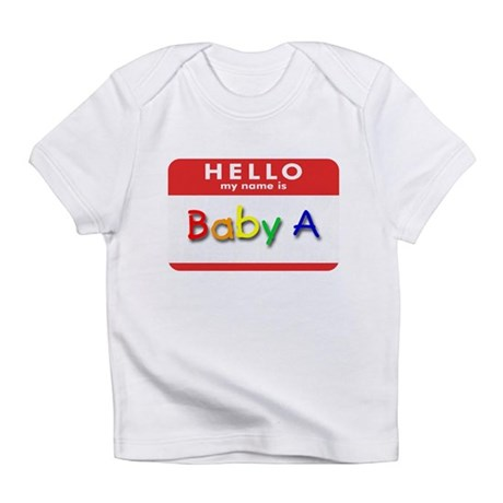 Baby A Creeper Infant T-Shirt