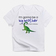 Gonna be big brother (dinosaur) Infant T-Shirt