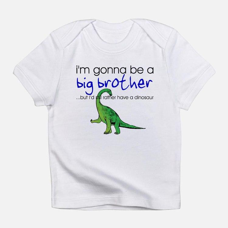 Gonna be big brother (dinosaur) Infant T-Shirt