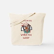 Funny Afraid Tote Bag