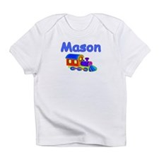 Train Engine Mason Creeper Infant T-Shirt