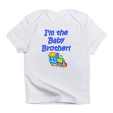 Baby Brother Train Engine Creeper Infant T-Shirt