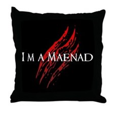 Vampires Throw Pillow