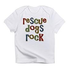 Rescue Dogs Rock Pet Dog Lover Infant T-Shirt