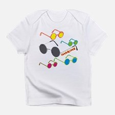 Imagine Glasses Colors Infant T-Shirt