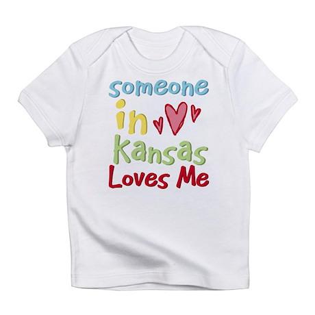 Someone in Kansas Loves Me Infant T-Shirt