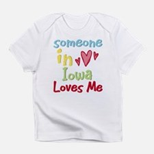 Someone in Iowa Loves Me Infant T-Shirt