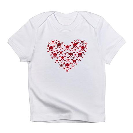 Skulls Heart Infant T-Shirt