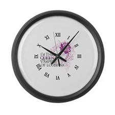 Vampires Large Wall Clock