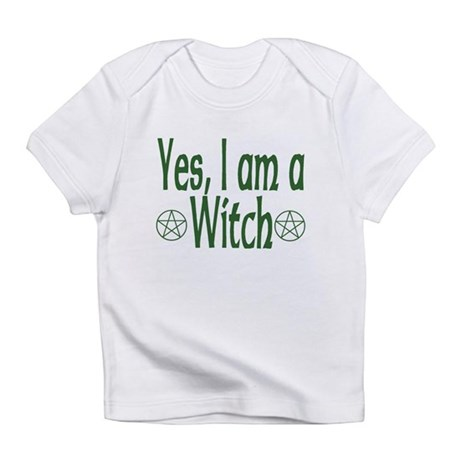 Yes, I am a Witch Creeper Infant T-Shirt