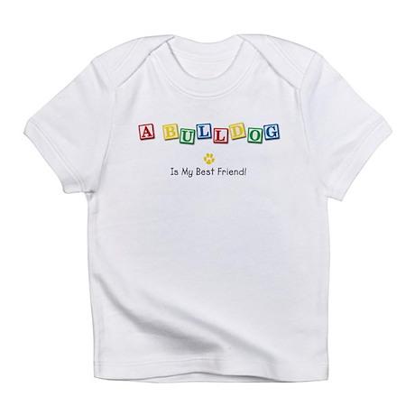 Bulldog Creeper Infant T-Shirt