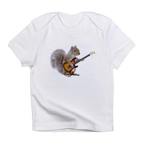 Squirrel Guitar Infant T-Shirt