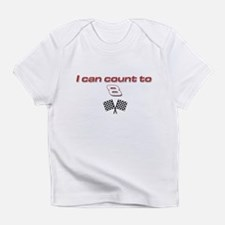 """Count to 8"" Creeper Infant T-Shirt"