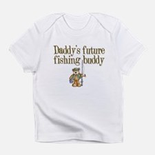 Daddy's Future Fishing Buddy Creeper Infant T-Shir