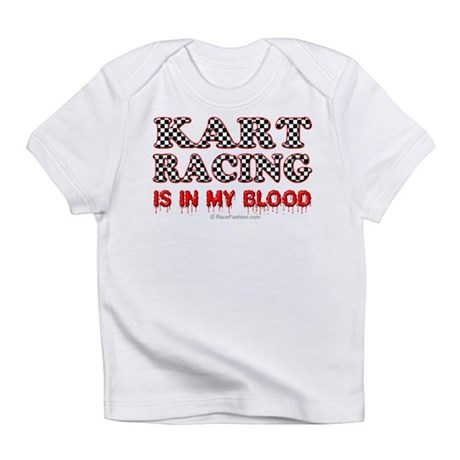 Kart Racing Blood Infant T-Shirt