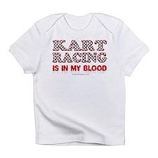 Kart Racing Blood Infant T-Shirt