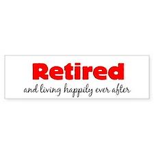 Retirement Bumper Sticker