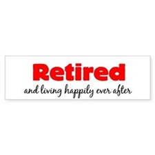 Retirement Car Sticker