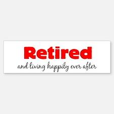 Retirement Sticker (Bumper)