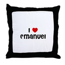 I * Emanuel Throw Pillow