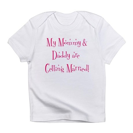 My Mommy & Daddy are Getti Infant T-Shirt