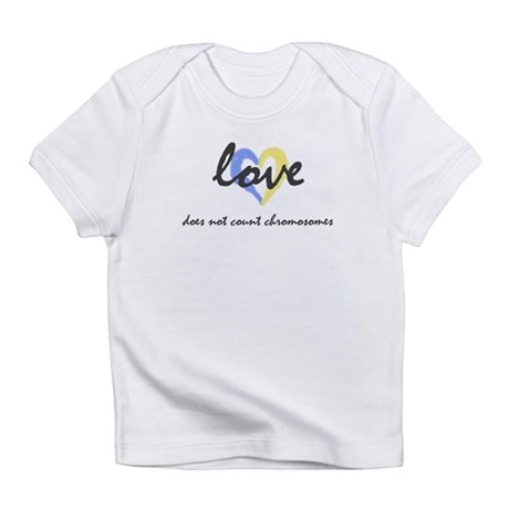 """""""Love does not count chromosomes"""" Creeper Infant T"""
