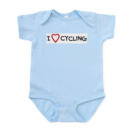 I Love Cycling Infant Creeper
