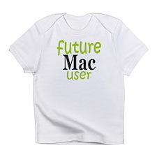 Future Mac User (green) Infant T-Shirt