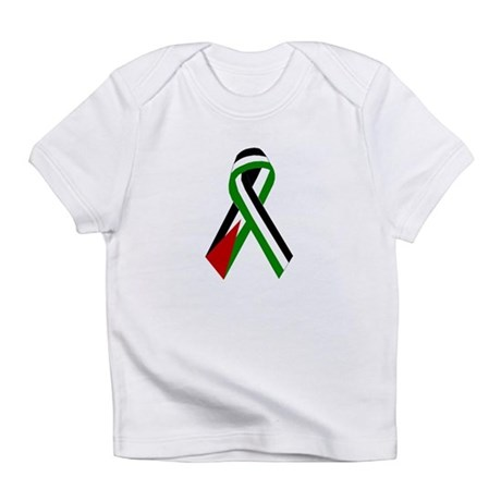 Palestinian Ribbon for Peace & Jus Creeper Infant