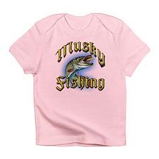 Musky Fishing 2 Infant T-Shirt