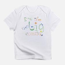 fun font new big cousin Infant T-Shirt