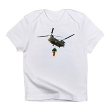 Chinook slingloading carrots Creeper Infant T-Shir
