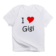 Unique I love gigi Infant T-Shirt