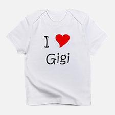 Cute I love gigi Infant T-Shirt