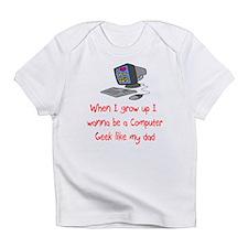 Computer Geek Infant T-Shirt