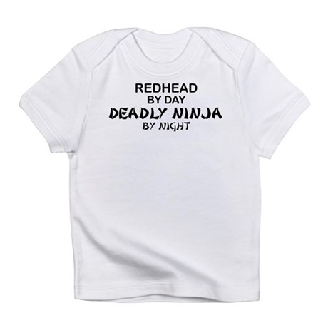 Redhead Deadly Ninja Infant T-Shirt