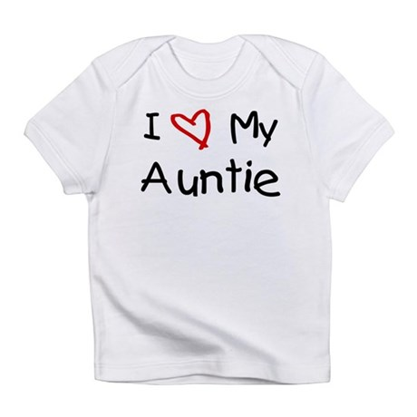 I Love My Auntie Infant T-Shirt